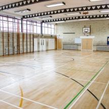 Floor Restoration Sports Hall Lee Chapel Floors Essex 8