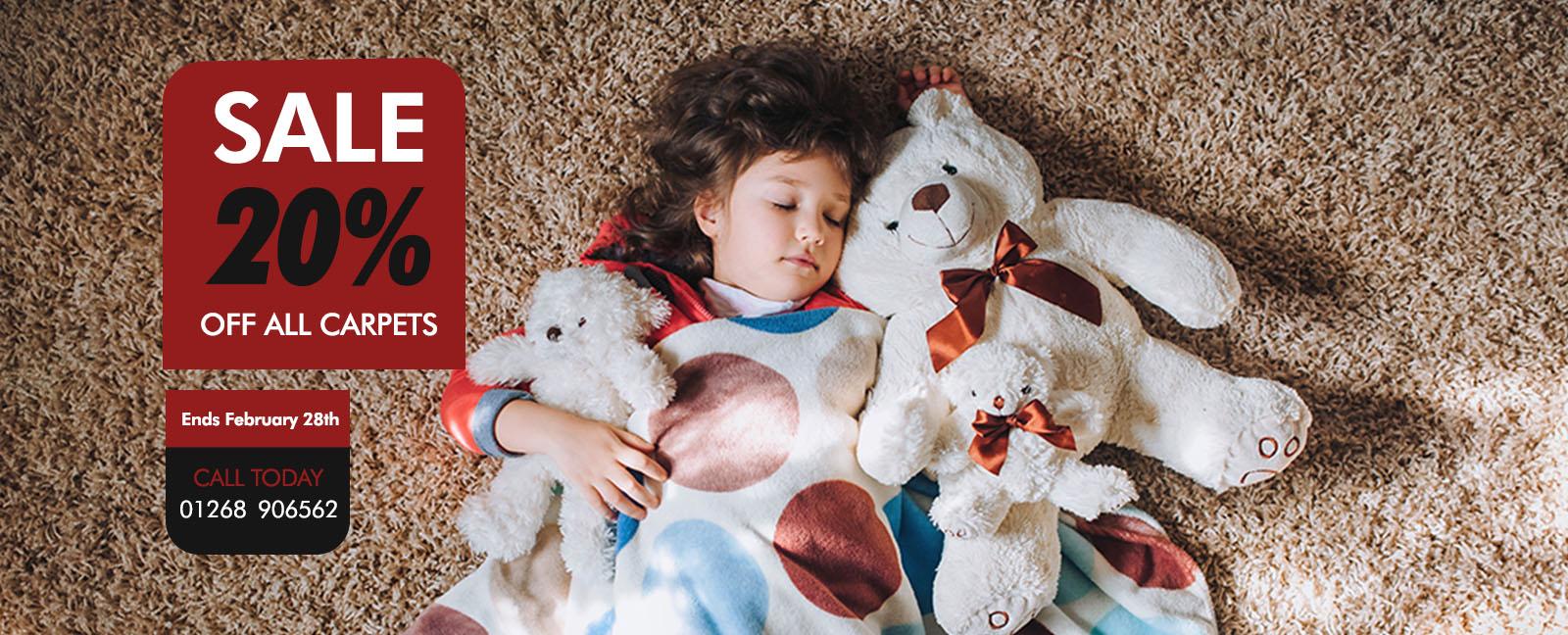 LCF 20% off Carpets Promo Winter 2019